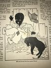 Black Americana Colored Boy Clover 1938 39 Childrens Activities Magazines