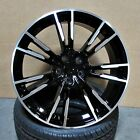 18 Black Machined wheels M5 M3 style fits BMW 1 2 3 4 and 5 series