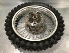 2007 Kawasaki Kx250f Rear Wheel Rim Hub Tire Complete Very Nice!  06 07 08