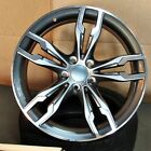 20 Gunmetal Machined Face wheels 622 style fits BMW 3 4 5 and 6 series