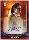 2017 Topps Doctor Who Signature Series Trading Cards 36