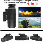 50X60 Magnification Pocket Portable Monocular Night Vision Prism Monocular Scope