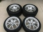Ford GT40 OEM 2005 2006 Wheels and Tires Optional 10 spoke GT