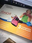 NEW Weight Watchers Punch DVD Exercise Set 3 Workouts  Weighted Pink Gloves