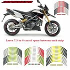 For Aprilia DORSODURO motorcycle wheel sticker Stripes Sticker