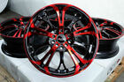 17 Civic Wheels Honda Accord Civic Cr Z Hr V Prelude Is250 Red Rim 5x100 5x1143