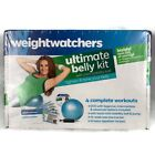 Weight Watchers Ultimate Belly Kit With Mini Stability Ball 4 Complete Workouts