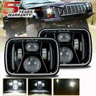 DOT 7X6 CREE LED Headlight Projector for Jeep Cherokee XJ Wrangler YJ Chevrolet