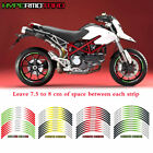For DUCATI HYPERMOTARD  #style 3 Cool wheel stickers Stripes Sticker