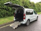 2014 14 Peugeot Partner Tepee 16 Petrol Mobility Wheelchair Car Ramp