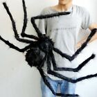 Halloween Scary Spider Haunted House Prop Indoor Outdoor Black Giant Tricy Dolls
