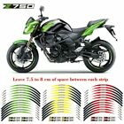 For Kawasaki Z750 Stereo Rubber rim pasters Cool wheel stickers  #lulb
