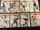 1993 Ted Williams Card Co. STL Cardinals 8 Card Lot inc Gibson Hornsby Slaughter