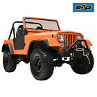 EAG Fits 59 86 Jeep Wrangler CJ5 6 7 Flat Style ABS Wide Body Fender Flares