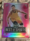 FIRE 🔥 SALE Best Of Sports Stephen Curry 20 20 Not a rookie auto💎Gem Mint