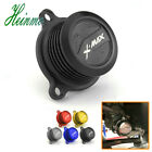 Motorcycle Engine Fuel Filter Tank Cover For Yamaha XMAX X MAX 250 300 2017 2018