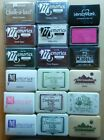 Lot of Assorted Rubber Stamp Pads Dye Chalk Versa Mark Memories Variety Colors