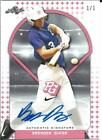 2018 Leaf Perfect Game National Baseball BRENDEN DIXON Pink Autograph 1 1