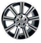 Wheel 99 17 Land Rover Range Rover 20 Inch Alloy Rim 5 lug 120mm Black Machined