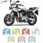 For YAMAHA FZ  #style 2 motorcycle wheel sticker Motorcycle accessories