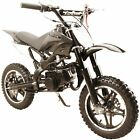 49 50cc High Performance Black 2 Stroke Gas Motorized Mini Pocket Dirt Pit Bike