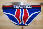 Timoteo Magnitude Brief Red, White, Blue, Size Large NWOT - 1011