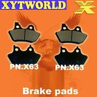 FRONT REAR Brake Pads for Harley Davidson XL 883 Sportster Standard 2000-2003