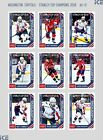 2018 Upper Deck Washington Capitals Stanley Cup Champions Hockey Cards - Checklist Added 7