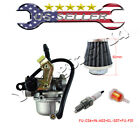Carburetor PZ19 Air Filter 50cc 90cc 110cc ATV Carb Gas Fuel Filter Spark Plug