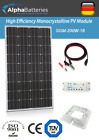 12V 200W Xplorer German Cell Solar Panel Kit  Caravan  Boat  Shed
