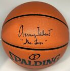 Jerry West Signed Autographed Basketball JSA Los Angeles Lakers
