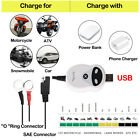 Automatic Battery Charger Maintainer Tender 12V Motorcycle ATV Boat Car For Ford
