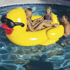 Game Giant Riding Derby Duck Swimming Pool Inflatable Float Lounge