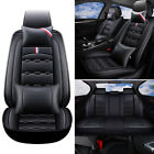 Universal Car Seat Cover Set Cushion Front Rear Split Bench Protector For Sedan