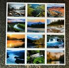 2019USA Forever Wild and Scenic Rivers Block of 12 Mint