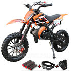 49cc 50cc 2 Stroke Gas Power Mini Pocket Dirt Bike Off Road motorcycle free ship