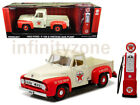 Greenlight 1:18 1953 FORD F-100 PICK UP TRUCK TEXACO with VINTAGE GAS PUMP 12991