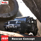 Maisto 118 JEEP Rescue Concept SWAT Police Car Vehicle Diecast Model Collection