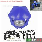 Motorcycle Headlight Fairing Head Lamp H/L Beam For Yamaha Honda WR YZ TTR Blue