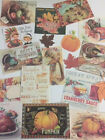 Vintage Thanksgiving CARDS DIE CUTS Gift Tags 14+ Piece for Crafting