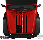 Digi Camo American Flag Thin Line Hood Vinyl Decal fits Jeep Dodge Ford Chevy