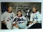EDWARD GIBSON Hand Signed Autograph 4X6 Photo NASA ASTRONAUT SKYLAB 4 INSCRT