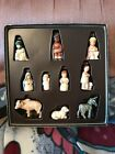 Goebel Nativity Set West Germany 10 piece nativity Jesus Mary Joseph Wise Men +