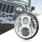 7 Round LED Projector Headlights Lamp w DRL for Jeep Wrangler CJ JK LJ Rubicon