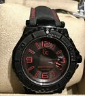 Mens Guess Swiss Made Watch Red And Black 1000FT / 300M New With Tags