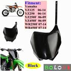 Front Plastic Number Plate Fender Cover Fairing For Yamaha WR250F WR450F 07-14