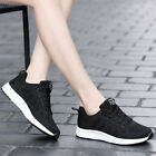 US55 black Women Outdoor Sport Breathable Casual Sneaker Athletic Tennis Shoes