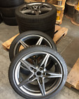 19x10 19x85 ASTON MARTIN 2015 DB9 SPEEDLINE GENUINE OEM WHEELS TIRES RIM SET