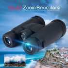 10X42mm Waterproof Roof Prism Zoom Binocular Telescope HD Travel Hunting
