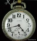 1916 Illinois 23 jewel Sangamo Special RR Pocket Watch in Gold Filled Case